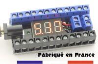 Bornier de distribution électrique + Voltmètre modélisme arcade émulateurs etc