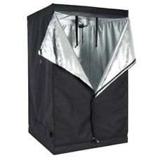 "48""x48""x78"" Indoor Grow Tent Room Reflective 600D Mylar Hydroponic Non Toxic Hut"