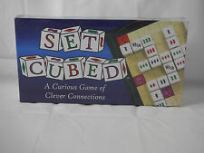 2007 Set Cubed Dice Board Game New Sealed