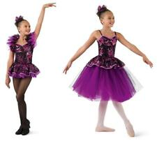 Dance Costume Medium Child Purple Ballet Tap Jazz 2in1 Solo Competition Pageant