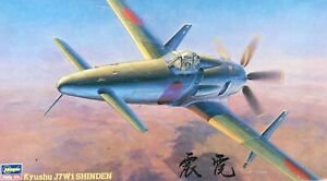 HASEGAWA KYUSHU J7W1 SHINDEN - BRAND NEW FACTORY SEALED BAGS 1/48