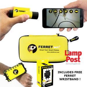 Super Rod SRFERRET Ferret WiFi Wireless Inspection Camera & Cable Pulling Tool