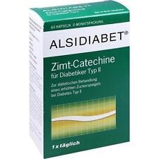 ALSIDIABET Zimt Catechine f.Diab.Typ II Kapseln 60St Kapseln PZN 7026899