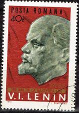 Romania Famous Communist Leader Vladimir Lenin 100 Ann stamp 1970