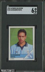1995-96 Panini Calciatori #138 Alessandro Nesta SGC 6 EX-NM