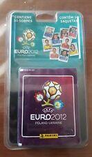blister cromos paquete 10 sobres eurocopa 2012 12 panini album stickers
