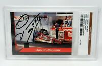 Don Prudhomme 37 NHRA 1993 Finish Line Signed Autographed Card Graded Authentic