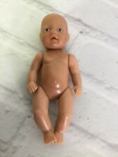 ZAPF Creation Baby Born Mini 4in Doll Mini World Nude Loose Poseable