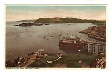 Plymouth From Smeatons Tower - Photo Postcard c1920s