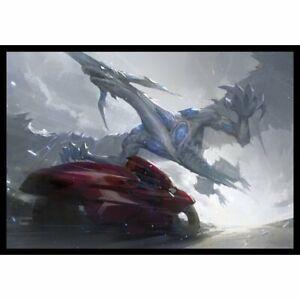 Yu-Gi-Oh Stardust Dragon Yusei Fudo doujin Card Sleeve Protector