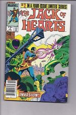High Grade Canadian Newsstand Edition Jack of Hearts #2 $0.75 variant