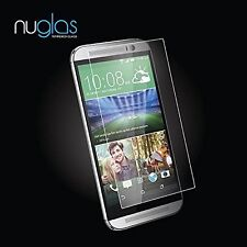 NEW Tempered Glass Film Screen Protector for HTC One M9 Premium NuGlas