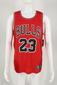 Fanatics NBA Chicago Bulls #23 Mike Sister Jersey Red Men's Size Medium NWT