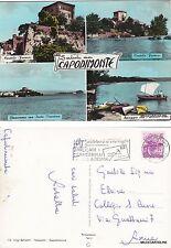 # CAPODIMONTE: SALUTI DA - 4 VEDUTE     1962