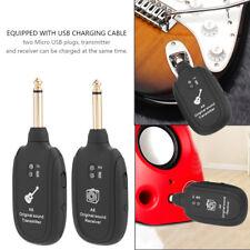 Wireless Audio Transmission Receiver Transmitter Set Electric Guitar Bass Violin