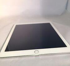 Apple iPad Air 2 128GB Silver AT&T Unlocked Good Condition w/Warranty