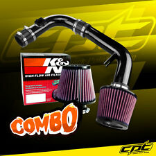 11-15 Chevy Cruze Non-Turbo 1.8L 4cyl Black Cold Air Intake + K&N Air Filter