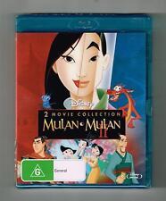 Mulan / Mulan 2 Blu-ray (2-Movie Collection) Disney Brand New & Sealed