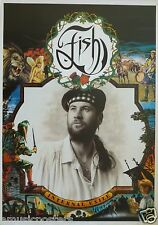 "FISH ""INTERNAL EXILE"" U.K. COMMERCIAL POSTER - Marillion, Progressive Rock Music"
