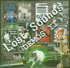 LOST SOUNDS Demos II CD NEW SEALED GARAGE PUNK PROMO
