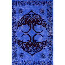 "Istanbul Blue Rayon Altar Cloth or Sarong 45 x 62"" Wiccan Pagan Altar 59281"