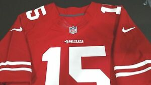 NIKE AUTHENTIC SAN FRANCISCO 49ERS ELITE JERSEY CRABTREE NWT ON FIELD SZ. 44