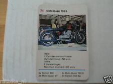 14-MOTOREN 3C MOTO GUZZI 750S KWARTET KAART MOTORCYCLES, QUARTETT
