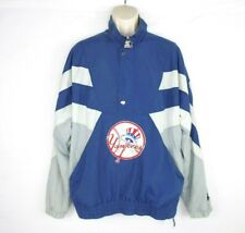 Vintage New York Yankees Starter Men's Pullover Size XL Jacket 90s Big Logo