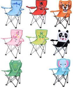 Campingstuhl für Kinder Klappstuhl Strandstuhl Gartenstuhl Kinderstuhl Flamingo