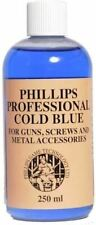 Phillips Professional Cold Blue for Guns & Screws and Metal Accessories - 250ml