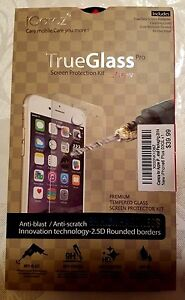 New iCarez True Glass Pro Screen Protection Kit Protector Apple Iphone 6 Plus