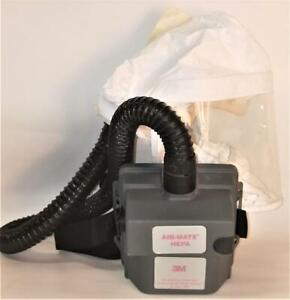 3M Air-Mate HEPA Respirator (PAPR) Unit with Head Cover