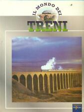 IL MONDO DEI TRENI 5 VOLUMI  AA.VV. EDIZIONI DEL PRADO 1991