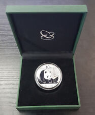 Chine 10 Yuan Panda Argent 999/1000 Silver 1 OZ (Once) 2011