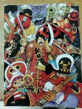 One Piece Anime poster 11x15 laminated.
