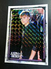 JUSTIN BIEBER Panini 2.0 Foil PRISM Parallel Collectible CHASE Insert Card #11