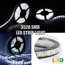 5M 300leds Super Bright Cool White 3528 SMD LED Flexible Strip Lights DC 12V US