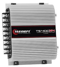 Taramps TS400X4 2 Ohms 4 Channel 400 Watts Class w/ Warranty in the USA!