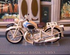MOTORBIKE PEUGEOT 55GL DE 1951 IXO MUSEUM 1/24 NEW MOTO