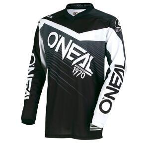 O'Neal Element Racewear YOUTH (kids) Jersey  - Black/Grey