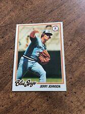 1978 Topps #169 Jerry Johnson Toronto Blue Jays ex-nm
