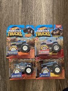Hot Wheels Bigfoot MONSTER TRUCKS Lot Of 4 W Target Exclusive