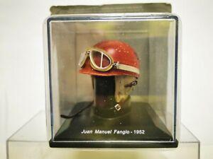 JUAN MANUEL FANGIO 1952 CASCO HELMET 1/5 SPARK EDITIONS