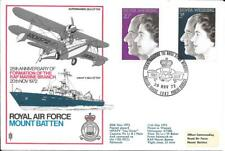 1972 Silver Wedding On RAF Mountbatten Official