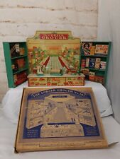 CORNER GROCER Tin Litho Store Kids Toy with ORIGINAL BOX!