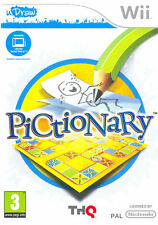 Pictionary - UDraw Nintendo WII IT IMPORT THQ