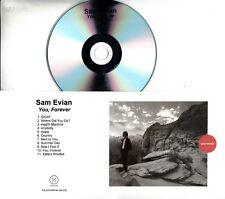 SAM EVIAN You, Forever 2018 UK 11-trk promo test CD