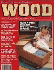 WOOD Magazine 202 issues PDF 2 x DVD ROM Carpentry woodwork plans guides