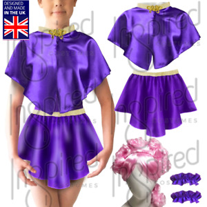 Girls ANNE WHEELER Costume Skirt or Cape the GREATEST SHOW Wear Costume ZENDAYA