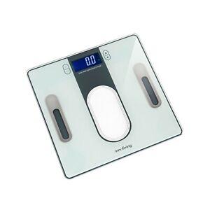 Bilancia digitale pesapersone Body fat & body water ultraslim Innoliving INN-140